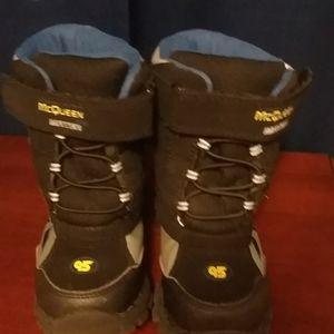 Disney Pixar McQueen and Mater Winter Boots